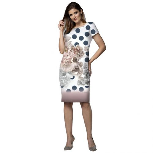 Elegantiška stilinga suknelė LM gel zir