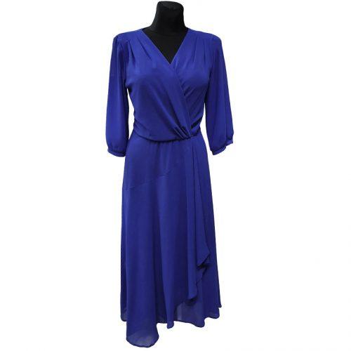 Puošni mėlyna ilga suknelė Lacoria long
