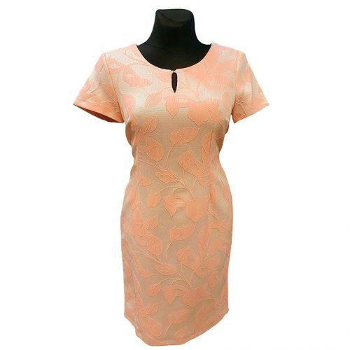 Elegantiška proginė suknelė iki kelių Livili trau