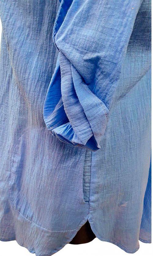 Vasariška plona ir lengva tunika Kabaz blue