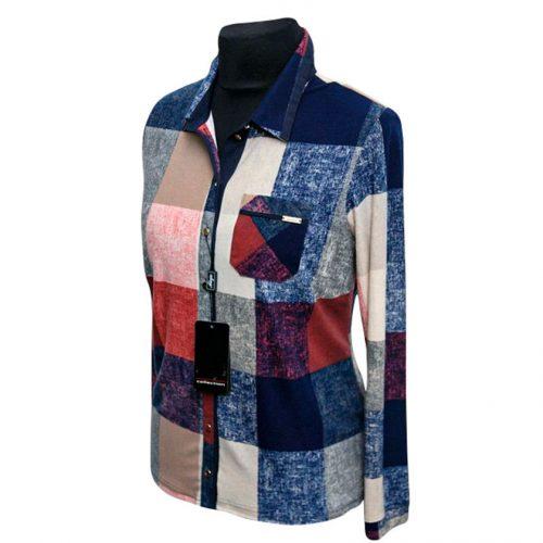 Languoti moteriški marškiniai Alicja lang ls