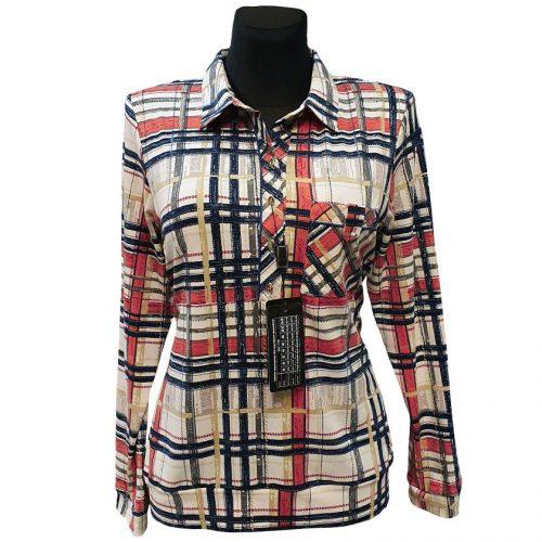 Languoti moteriški marškiniai Alicja lng pock rng