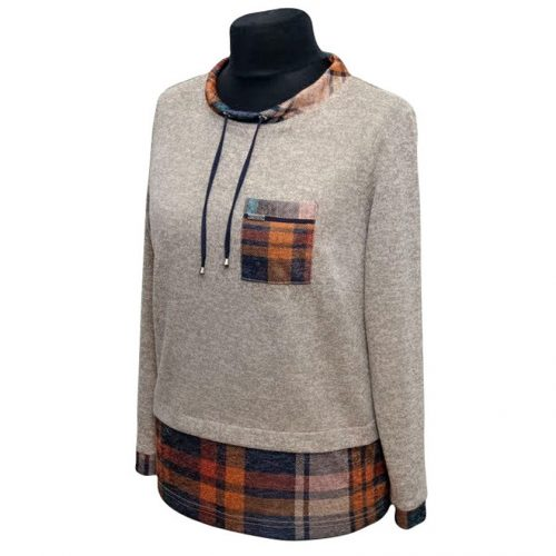 Patogus ir šiltas moteriškas megztinis Alicja port plk